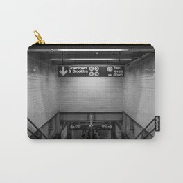 Downtown New York City Subway Carry-All Pouch