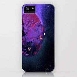 Fall Of Krypton iPhone Case
