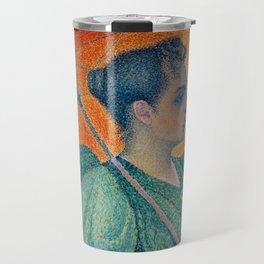 Woman with a Parasol (Femme à l'ombrelle) Travel Mug