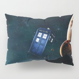 tardis doctor who Pillow Sham