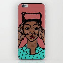 Gloria by Naddya iPhone Skin