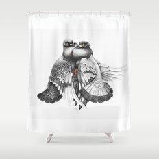 Pidgeons Shower Curtain