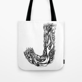 The Illustrated J Tote Bag