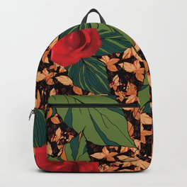 rose with dandelion - variant Backpack