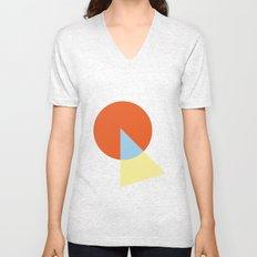 Triangle and circle Unisex V-Neck