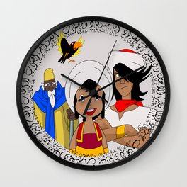 Arabian Nights Wall Clock