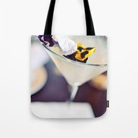 martini Tote Bags featuring Martini by kbattlephotography