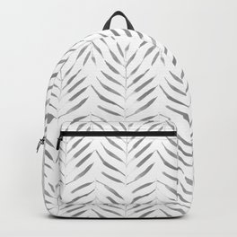 Palms grey Backpack