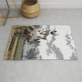 """The """"Town Musicians of Bremen"""" Rug"""