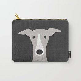 Cute Greyhound / Italian Greyhound Carry-All Pouch