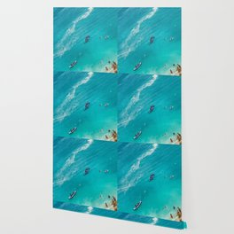 Beach from above Wallpaper