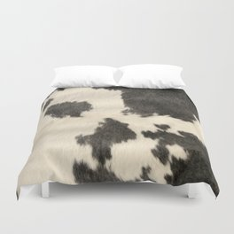 Black & White Cow Hide Duvet Cover