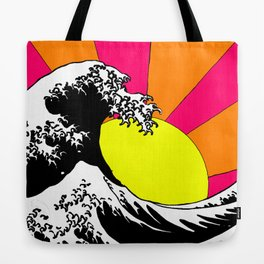 Endless Wave Tote Bag