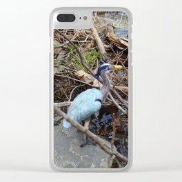 At the River's Edge Clear iPhone Case