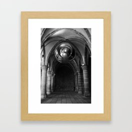 Silent Moment at Mont Saint-Michel Framed Art Print