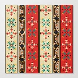Navajo style pattern Canvas Print