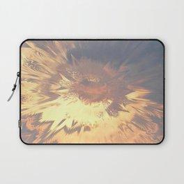 Sunset mandala explosion Laptop Sleeve