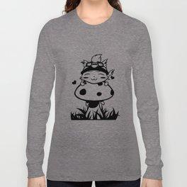 Peeking Teemo Long Sleeve T-shirt