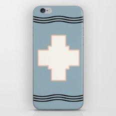 Cross tribal wave iPhone & iPod Skin