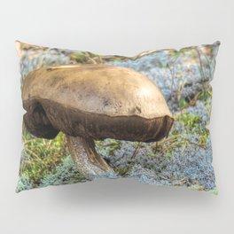 mushroom in swedish forest Pillow Sham