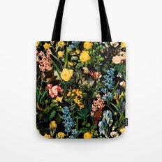 FLORAL AND BIRDS V Tote Bag