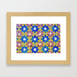 Azulejos - Portuguese tiles Framed Art Print
