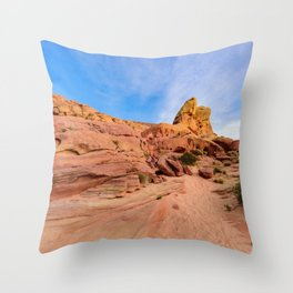 0202 Valley_of_Fire_State_Park, Nevada Throw Pillow