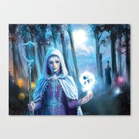jack frost Canvas Prints featuring Jack Frost by franzkatter