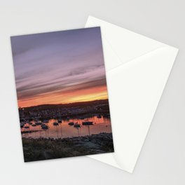 Last Rockport Sunset of Summer Stationery Cards