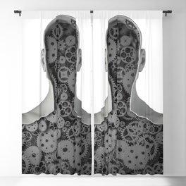 Clockwork human Blackout Curtain