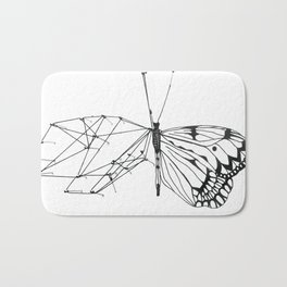 butterfly effect Bath Mat