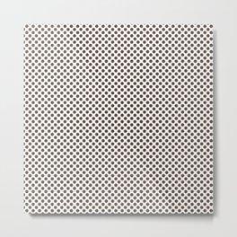 Carafe Polka Dots Metal Print