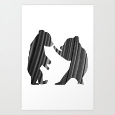 Cubs (The Living Things Series) Art Print