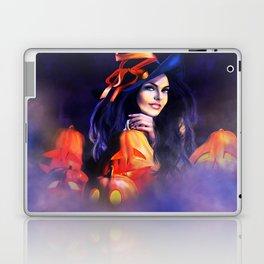 Jack O Lantern Witch Laptop & iPad Skin