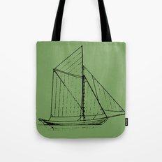 Eka Green Tote Bag