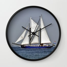 SAILORS WORLD - Baltic Sea Wall Clock