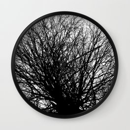 Branches 6 Wall Clock