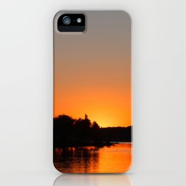 Sunset at Sunset Bay iPhone Case