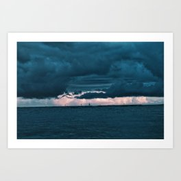 Haunting Sail Art Print