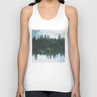 lake Tank Tops featuring lake by cOnNymArshAuS
