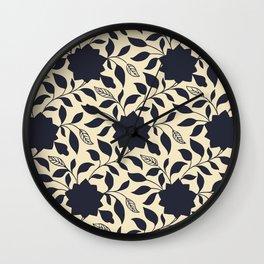 Chinese Neo-Retro Pattern X Wall Clock