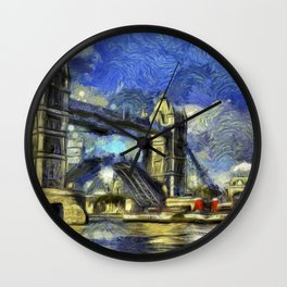 Tower Bridge and the Waverley Art Wall Clock