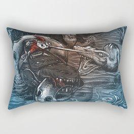Marsh Madness  Rectangular Pillow