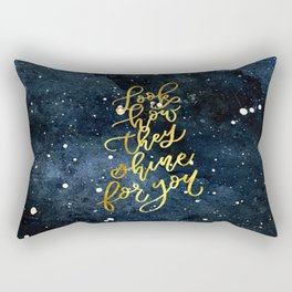 Shine for You Rectangular Pillow