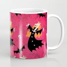 Unicorn Vampire Pattern Mug