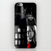 swan queen iPhone & iPod Skins featuring Swan Queen by EvilQueenFann