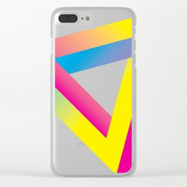 impossible triangle Clear iPhone Case