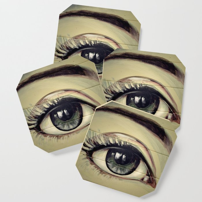 Eyes are Windows to the Soul Coaster