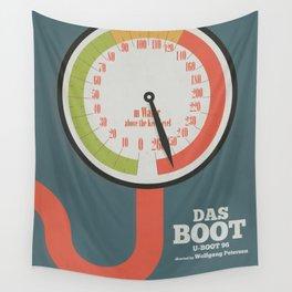 Das Boot, U-boot 96, alternative movie poster, minimal film playbill Wall Tapestry