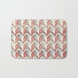 Arched Stamp Pattern Bath Mat